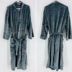 NEW Ulta Beauty Grey Super Soft Plush Lounge Robe